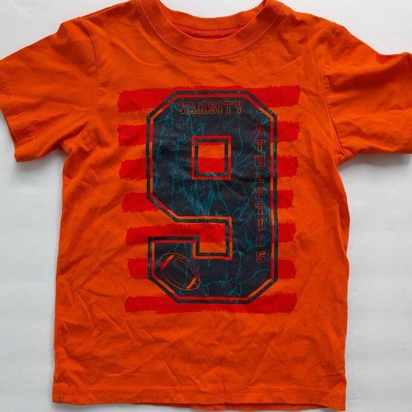 Children's Place Boys T-Shirt Football Orange 4T